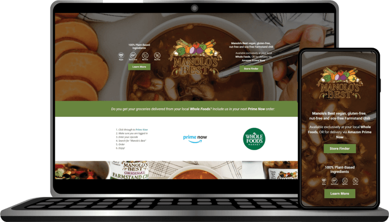 Manolo's Best Landing Page