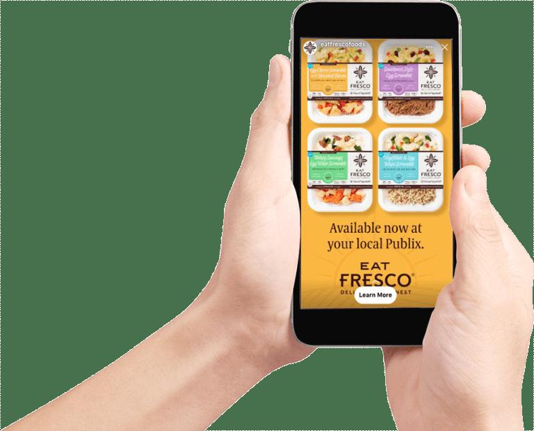 Eat Fresco Social Ad